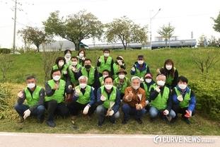 오산시자연보호협의회, 오산천 환경정화활동 펼쳐